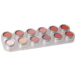 Rouge-/Lidschattenpalette RZ mit 12 Farben