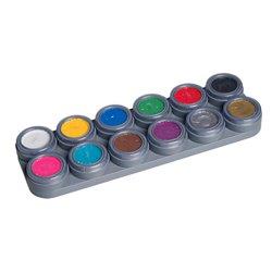 Water Make-up-Palette mit 12 Farben