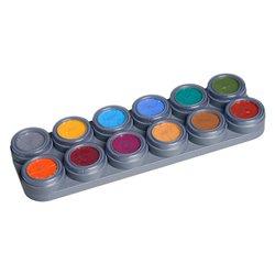Water Make-up-B-Palette mit 12 Farben