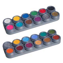 Water Make-up-Palette mit 24 Farben