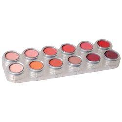 Rouge-/Lidschattenpalette RC mit 12 Farben