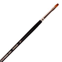 Rotmarder-Flachpinsel Nr. 4
