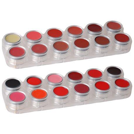 Lippenstiftpalette LK mit 24 Farben