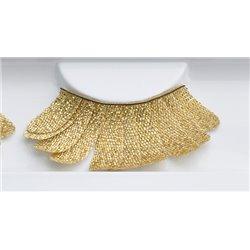 Goldene Blattwimpern