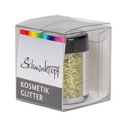 Polyesterglitter mit Hologrammeffekt gold