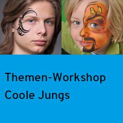 Themen-Workshop Coole Designs für Jungs