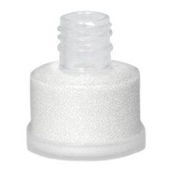 Polyesterglitter, weiss-perlmutt