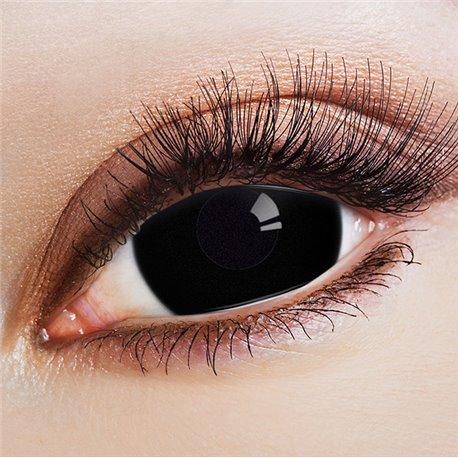 Kontaktlinsen Mini Sclera Black
