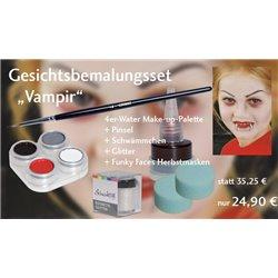 Gesichtsbemalungs-Set Vampir