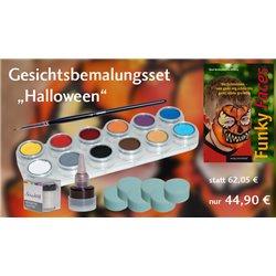 Gesichtsbemalungs-Set Halloween