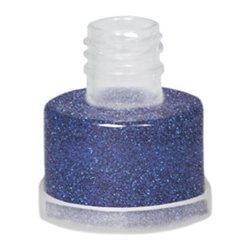 Polyesterglitter, blau