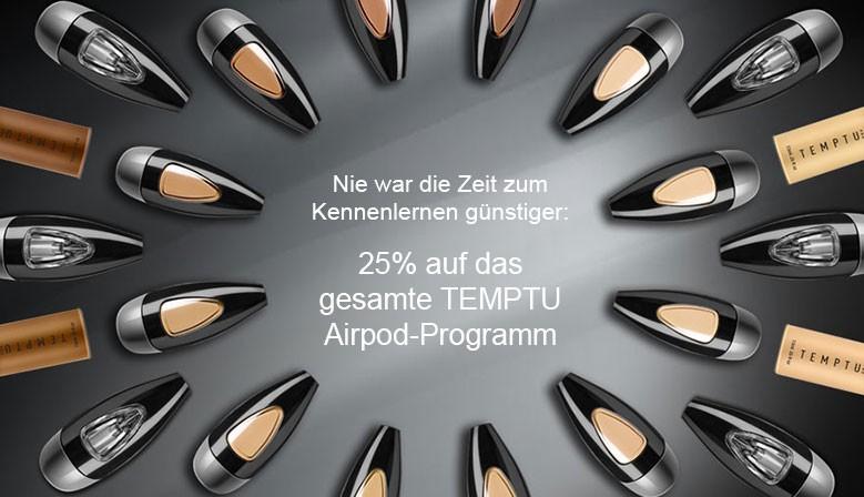 TEMPTU Airpod-System zum Kennenlernpreis